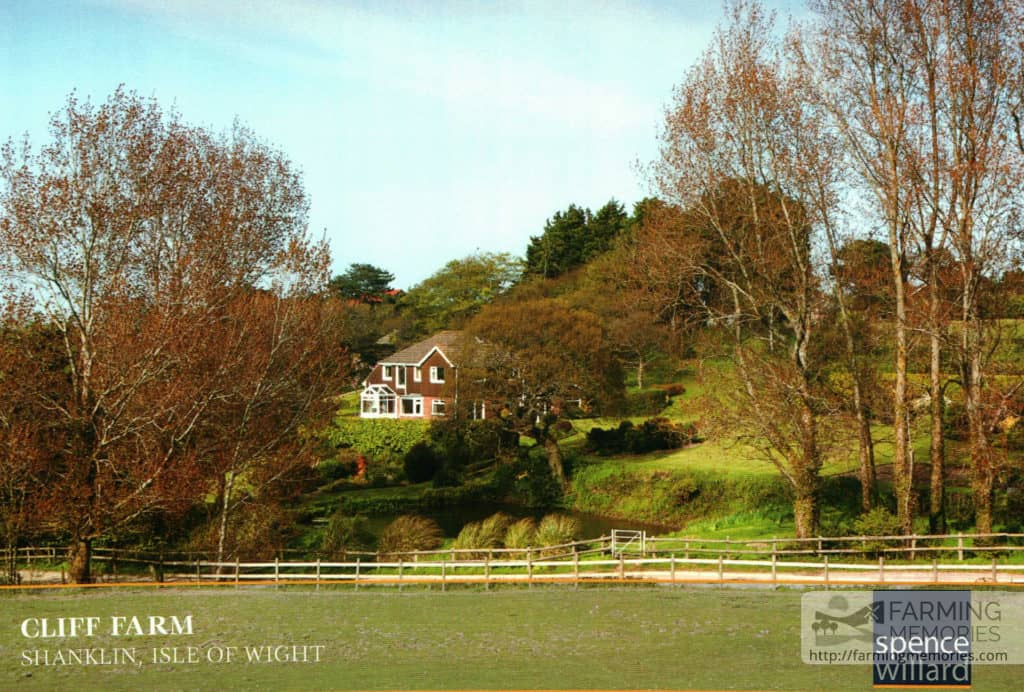 Cliff Farm, Shanklin (Spence Willard ad)