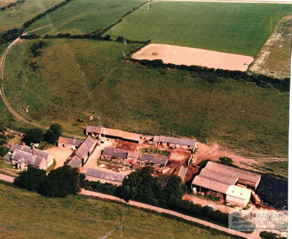 John Attrill - Aerial view of Dean Farm