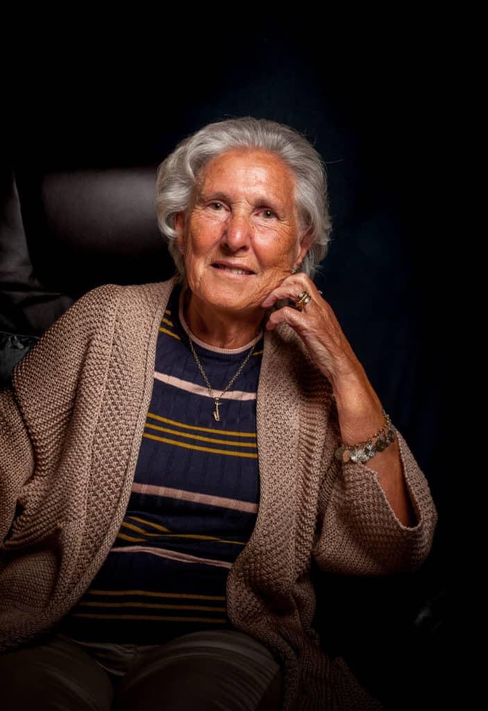 Ruth Stone portrait by Julian Winslow