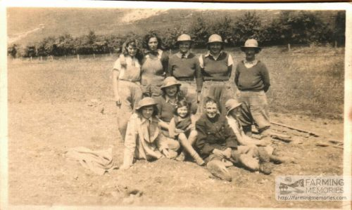 Beryl with other Foresters, Westridge Down